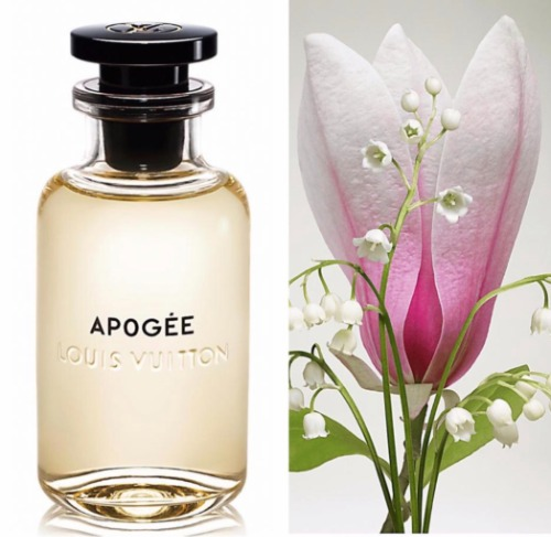Hồn hoa gửi trọn trong nước hoa Louis Vuitton Apogée.
