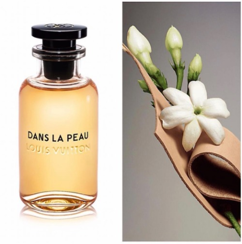 Gợi cảm như huệ trắng, phong trần như da thuộc là hai vẻ đối lập quy tụ trong nước hoa Louis Vuitton Dans la Peau.