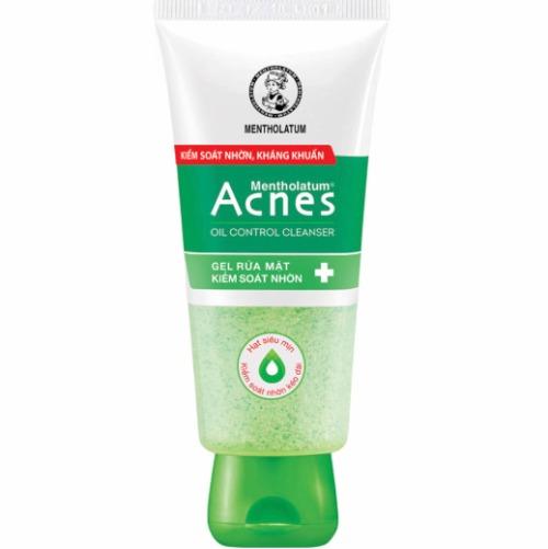 Sữa rửa mặt có các hạt siêu mịn, làm sạch da, tẩy tế bào chết và kiểm soát dầu nhờn hiệu quả.