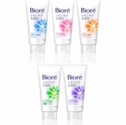 Sữa rửa mặt Bioré phong phú về từng dòng lẫn công dụng chuyên biệt.