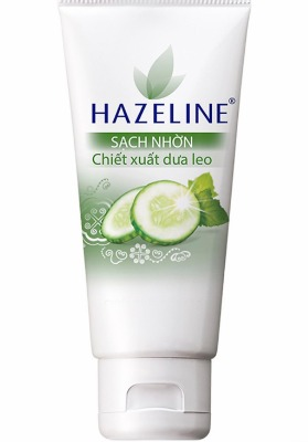 Một em sữa rửa mặt đáng thử khác của Hazeline!