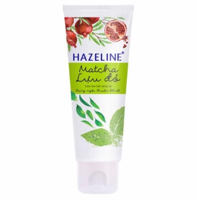 Matcha và Lựu đỏ kết hợp với nhau tạo nên một tuýp sữa rửa mặt an toàn, hiệu quả cho da.