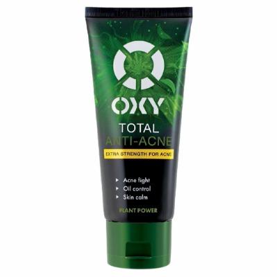 Sữa rửa mặt OXY với chiết xuất trà xanh giúp làm sạch da an toàn, tối ưu.