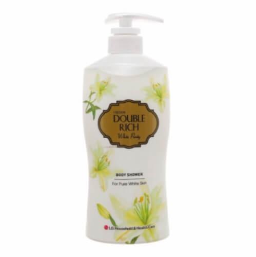 Sữa tắm Double Rich hoa lily giúp từng tế bào trên da được thư giãn, khỏe mạnh và đẹp lên từng ngày.