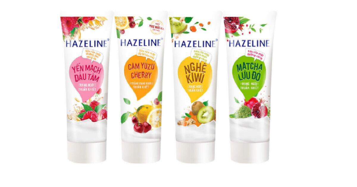 sữa rửa mặt hazeline