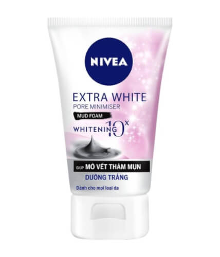 Nivea Extra White Pore Minimiser Mud Foam