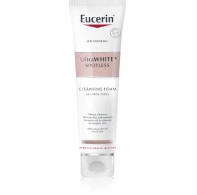 Dòng sữa rửa mặt Eucerin ngừa nám, dưỡng trắng da.