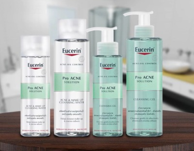 Không chỉ sữa rửa mặt mà những sản phẩm skincare khác của Eucerin đều rất phổ biến và dễ mua.