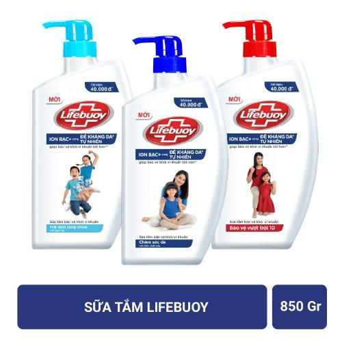 Một số loại sữa tắm Lifebuoy