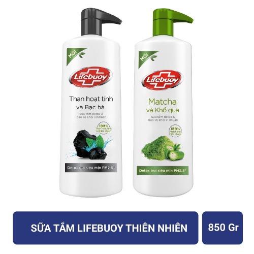 Sữa tắm chiết xuất thiên nhiên Lifebuoy 850g