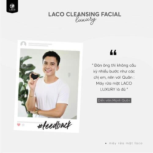 Đánh giá từ những diễn viên nổi tiếng trong showbiz Việt về dòng máy rửa mặt Laco mới nhất này.