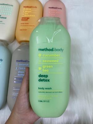 Bao bì độc lạ hay hay và mùi hương relax là những gì mà em sữa tắm Method Body này mang lại cho mình.