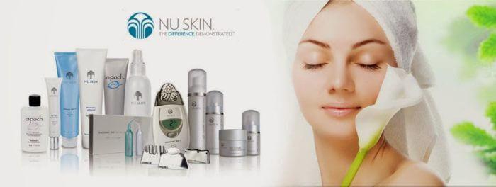 Thương hiệu Nuskin chuyên cung cấp thiết bị làm đẹp và những dòng sản phẩm chăm sóc tập trung vào tác dụng chống lão hóa.