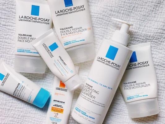 Kem dưỡng ẩm La Roche-Posay cấp nước tốt, phục hồi làn da tổn thương, kích ứng nhờ vào những thành phần lành tính.