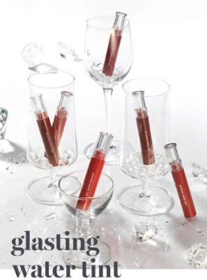 Bộ sưu tập son Romand Glasting Water Tint.