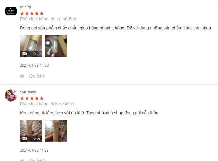 Những đánh giá của chị em về sản phẩm Cicalfate restorative skin cream