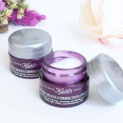 Sữa dưỡng ẩm Kiehl's Super Multi-Corrective Cream giúp da mềm mại hơn