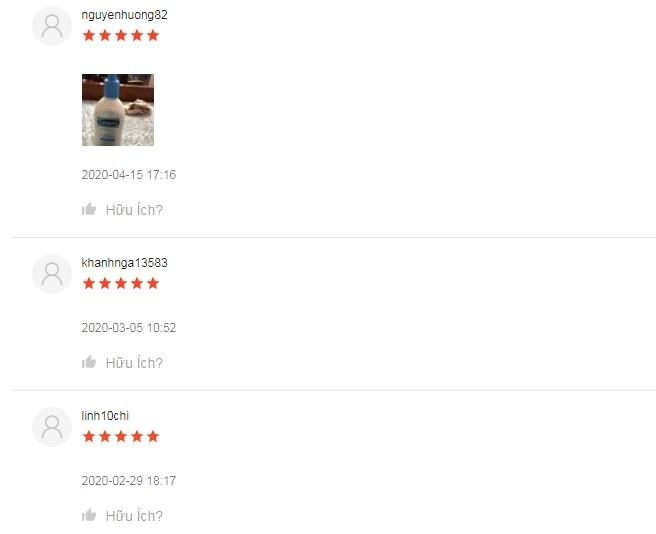 Em này nhận rất nhiều đánh giá 5 sao trên Shopee từ chị em