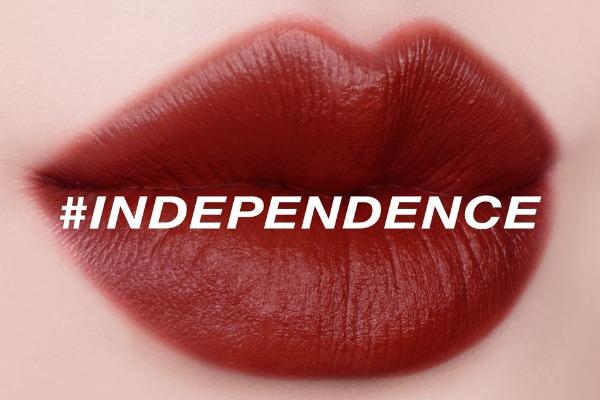 Son Merzy V16 là sắc đỏ có pha nâu dễ dùng, tuyệt đẹp.