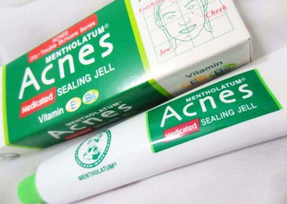 Kem trị mụn Acnes Sealing Jell.