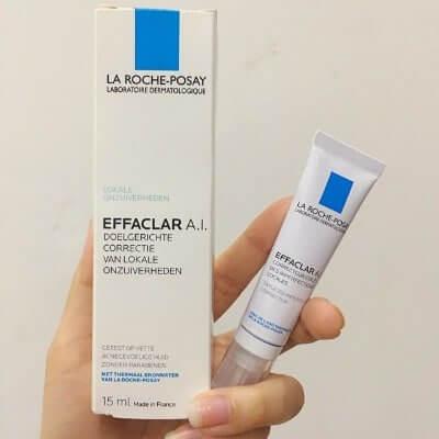 Effaclar A.I nhẹ nhàng và hiệu quả cho da mụn