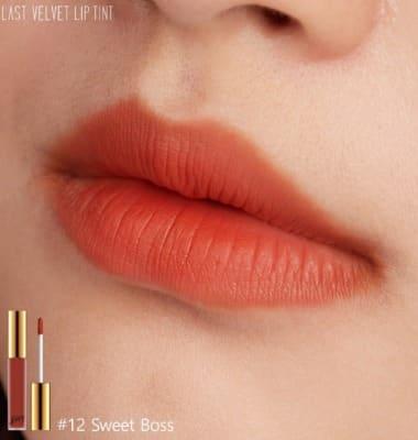 Son BBIA màu 12 ngả cam nhiều nhưng vẫn dễ dùng, tươi sáng.