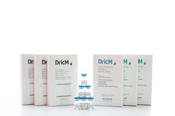 Bao bì của hai dòng mặt nạ dược mỹ phẩm nhà DricM