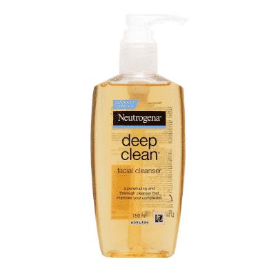 Sữa rửa mặt Neutrogena Deep Clean Facial Cleanser.