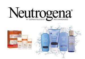 Thương hiệu mỹ phẩm Neutrogena.