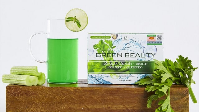 Bột Green Beauty tiện lợi, dễ uống, không gây ngán