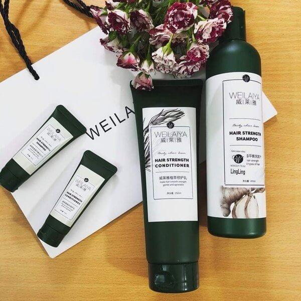 Weilaiya đang là một trong những brand dầu gội đầu đang lên, được nhiều người tin dùng.