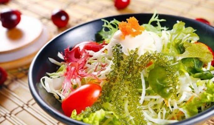 Rong nho có thể ăn sống hoặc chế biến thành nhiều món