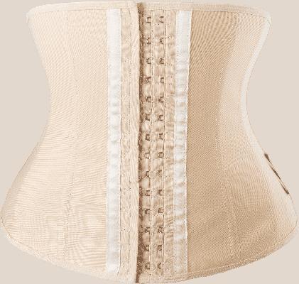 Thiết kế của chiếc đai nịt bụng Latex Slim 102 màu da.