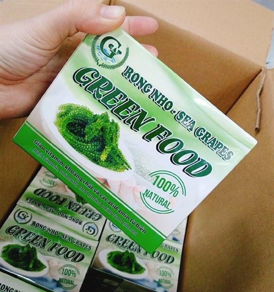 Rong nho Green Food được yêu thích