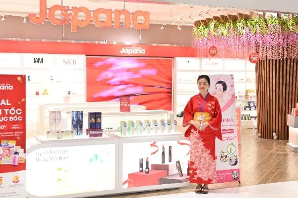Sữa tắm Yukina và nhiều sản phẩm khác của hãng đã có mặt tại Việt Nam.