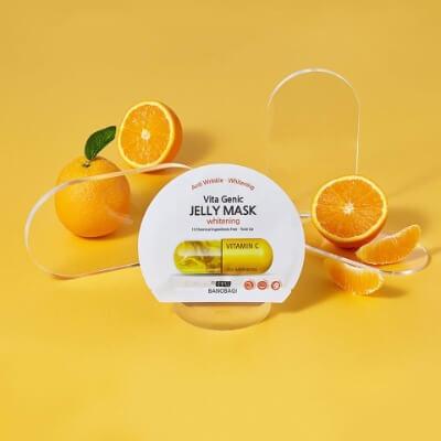 Mặt nạ Banobagi màu vàng chứa vitamin C